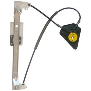 mecanisme leve vitre electrique VOLKSWAGEN POLO (11/2001-06/2009) - 4 Portes Arriere Coté Passager SANS MOTEUR