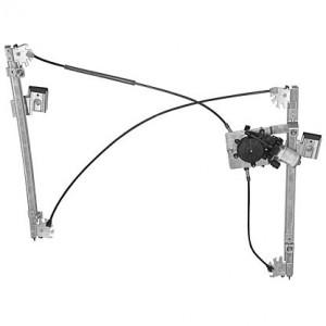 mecanisme leve vitre electrique VOLKSWAGEN POLO CLASSIC (09/2002-) - 4 Portes Avant Coté Passager AVEC MOTEUR