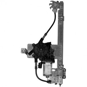 mecanisme leve vitre electrique LANDROVER FREELANDER (10/2000-) - 4 Portes Arriere Coté Conducteur AVEC MOTEUR