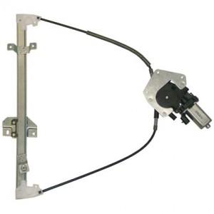 mecanisme leve vitre electrique FORD FIESTA (09/1999-06/2002) - 2 Portes Avant Coté Passager AVEC MOTEUR