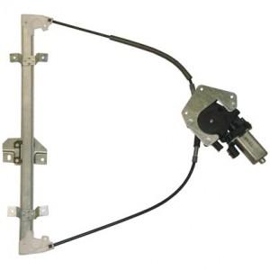 mecanisme leve vitre electrique FORD FIESTA (04/1989-10/1995) - 2 Portes Avant Coté Passager AVEC MOTEUR