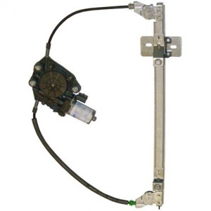 mecanisme leve vitre electrique FIAT SEICENTO (1998-) - 2 Portes Avant Coté Conducteur AVEC MOTEUR