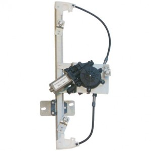 mecanisme leve vitre electrique RENAULT CLIO (03/1998-09/2005) - 4 Portes Arriere Coté Passager AVEC MOTEUR
