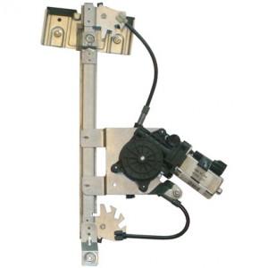 mecanisme leve vitre electrique VOLKSWAGEN POLO (1995-1999) - 4 Portes Arriere Coté Conducteur AVEC MOTEUR