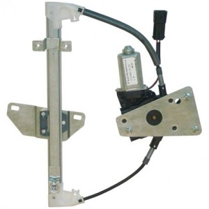 mecanisme leve vitre electrique NISSAN QASHQAI (01/2007-) - 4 Portes Arriere Coté Conducteur AVEC MOTEUR